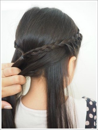 ラプンツェル 髪型