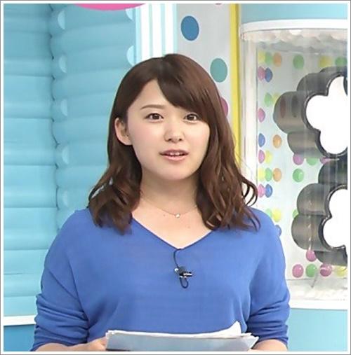 尾崎里紗アナ 髪型