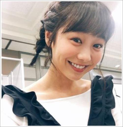 高田夏帆 髪型