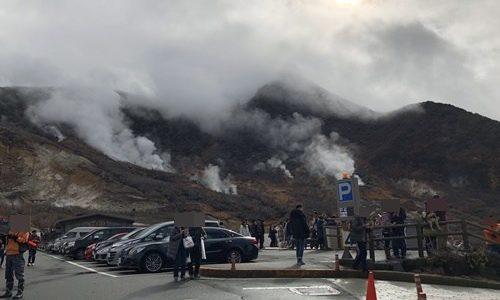 箱根観光モデルコース!車で大涌谷へ行くには駐車場攻略が鍵!
