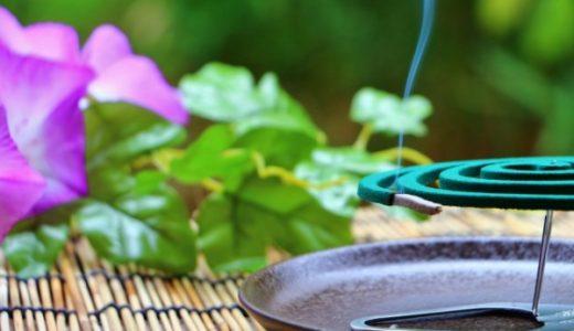 キャンプの蚊取り線香で最強なのはどれ?置き方の効果とホルダーおすすめ!