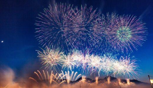 花火の大きさが日本一はどこの大会? 単位の呼び方や規制についても調べてみた!